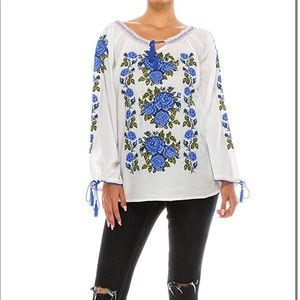 ISO  blouse size S any color Mexican